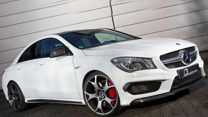 01/2015, BB Mercedes CLA 45 AMG
