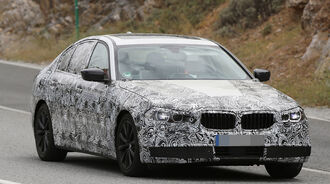 08/2015 Erlkönig BMW 5er
