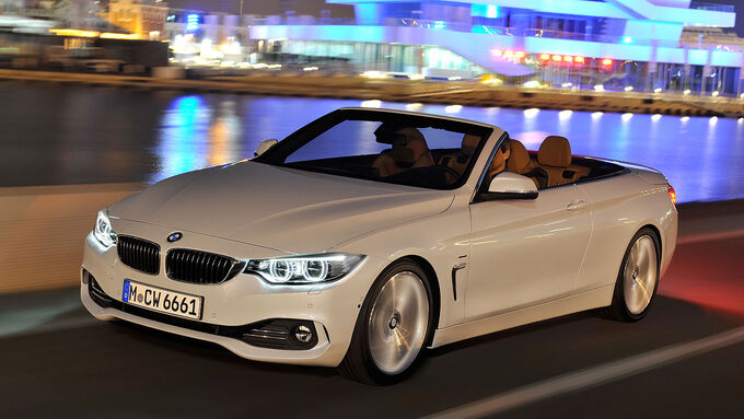 bmw 4er cabrio auf der l a autoshow gr er leiser und. Black Bedroom Furniture Sets. Home Design Ideas