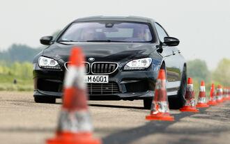 AC-Schnitzer-BMW ACS6 Sport Gran Coupé, Frontansicht, Slalom