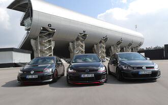 Abt Golf GTI Dark Edition, VW Golf GTI Performance BB Stufe 2, Oettinger Golf GTI
