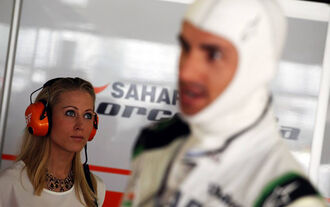 Adrian Sutil - Jennifer Becks - Formel 1 - Fahrerfrauen - 1. April 2014