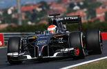 Adrian Sutil - Sauber - Formel 1 - GP Ungarn - 25. Juli 2014