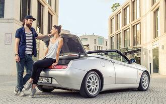 Alfa Romeo Spider 2.0 TS, Heckansicht