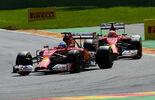 Alonso Räikkönen - Ferrari - GP Belgien 2014