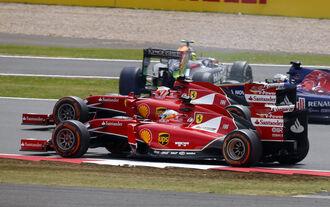 Alonso Räikkönen - GP England 2014