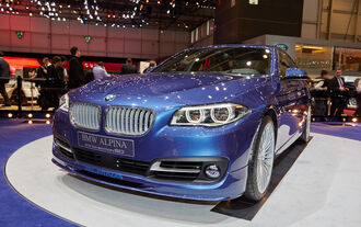 Alpina B5 Edition 50 in Genf