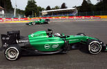 André Lotterer - Caterham - Formel 1 - GP Belgien - Spa-Francorchamps - 22. August 2014