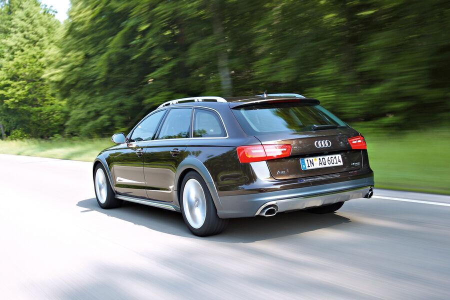 Audi A6 Allroad 3 0 Tdi Im Test Der Avant Krempelt Die 196 Rmel Hoch Auto Motor Und Sport
