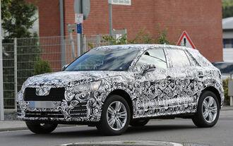 Audi Q1 Q2 Erlkönig