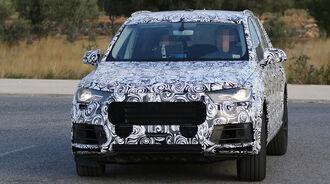 Audi Q7 Erlkönig 11/2013