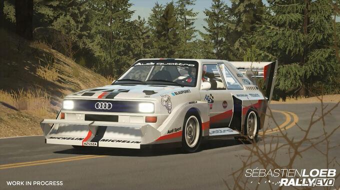 Audi Quattro - Screenshot - Sebastien Loeb Rally Evo
