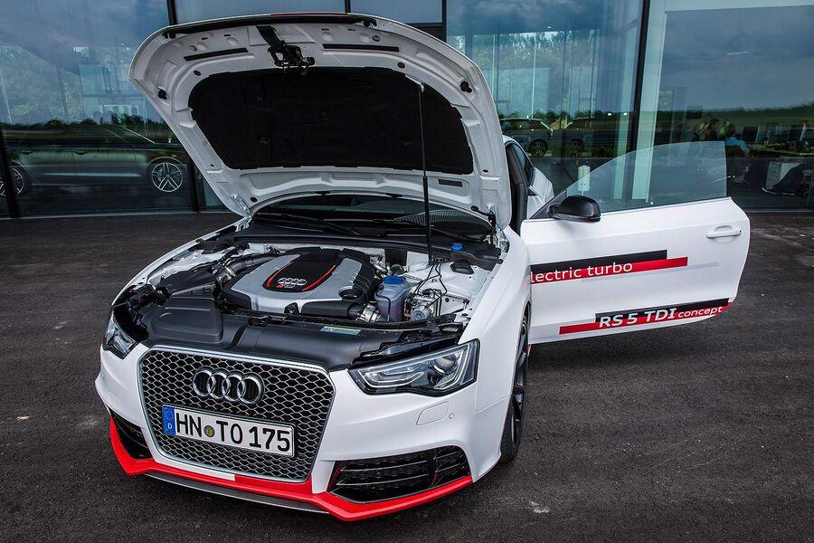 Под капотом Audi RS5 TDI