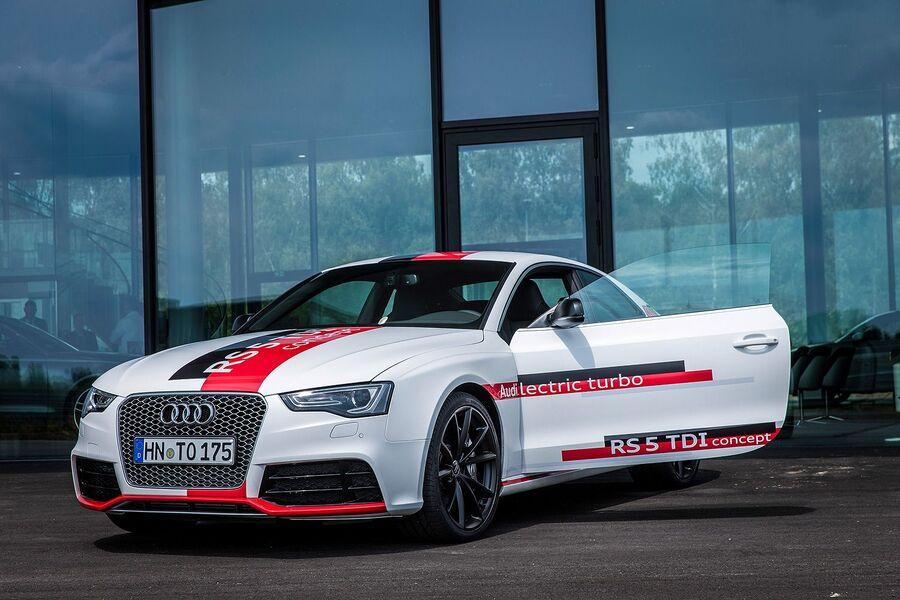 Концепт Audi RS5 TDI 2014 года