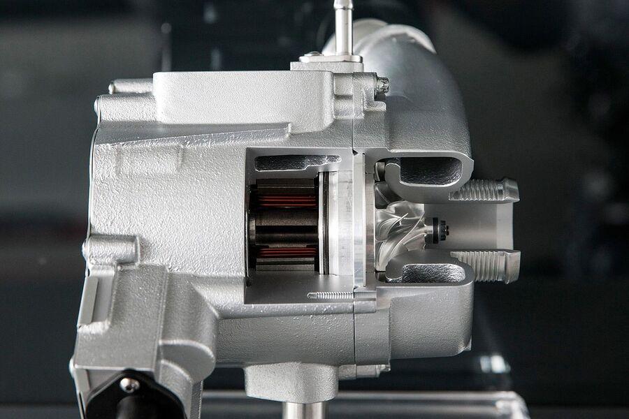 Электрическая турбина дизеля 3.0 TDI V6