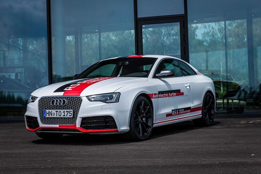 Дизельный прототип Audi RS5 TDI 2014 года