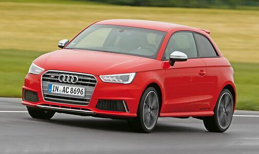 Audi S1, Frontansicht