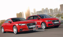 Audi Sportvan und Audi A5 Coupe