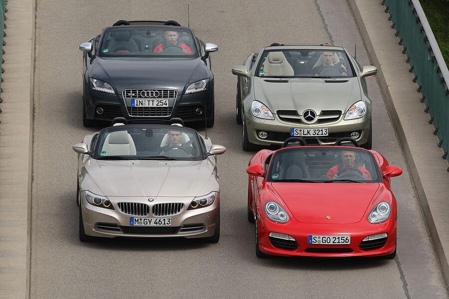auto motor und sport tv vier sportliche roadster im vergleich auto motor und sport. Black Bedroom Furniture Sets. Home Design Ideas