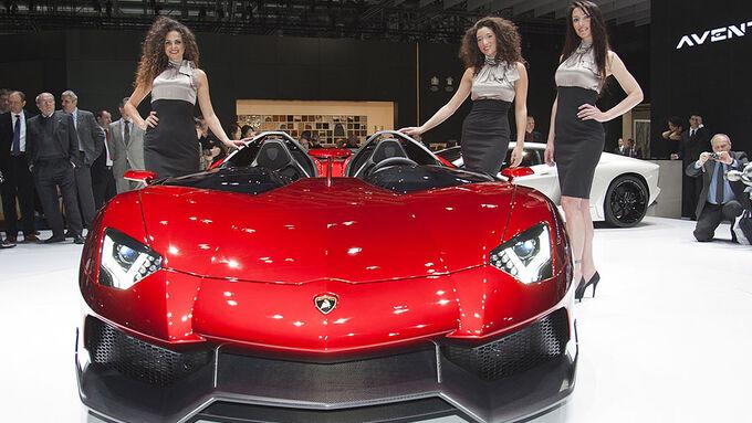 Auto-Salon Genf 2012 Lamborghini Aventador J