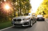 BMW 125i, VW Golf GTI, Frontansicht