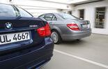 BMW 318i, Mercedes C 180 CGI