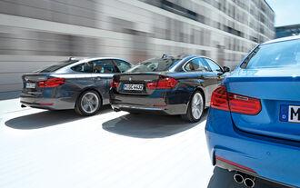 BMW 328i, BMW 428i Gran Coupé, BMW 328i Gran Turismo, Heckansicht