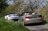 BMW 420i Cabriolet, Opel Cascada 1.6 Ecotec Turbo, Heckansicht