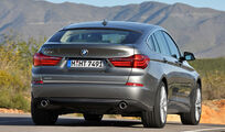 BMW 5er Gran Tourismo, Facelift 2013, Heckansicht