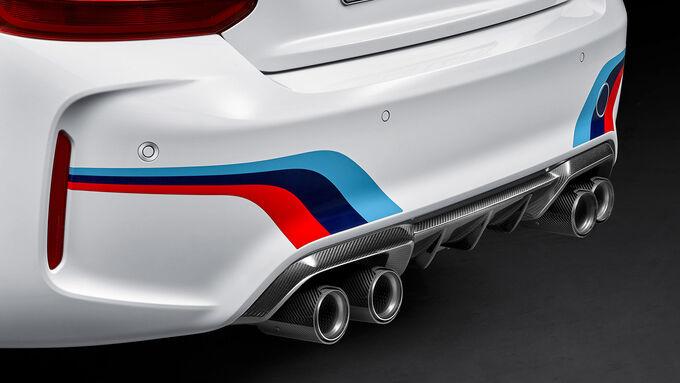 BMW M2 Coupé M Performace Parts Sperrfrist 12.2.00.00 Uhr