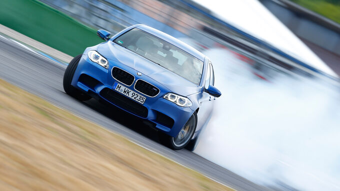 BMW M5 Competition, Driften, Frontansicht