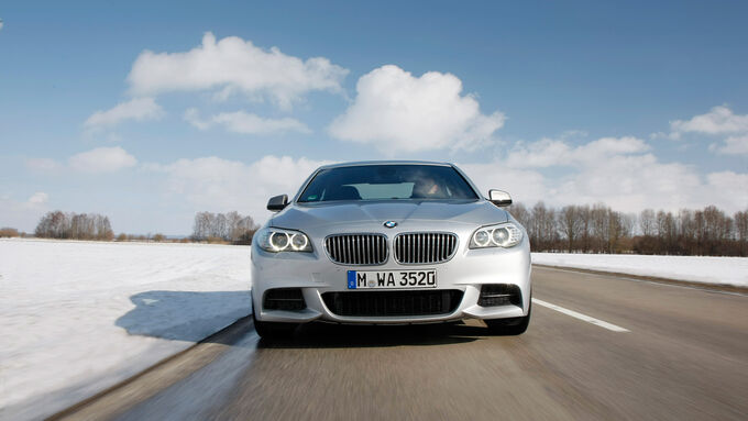 BMW M550d xDrive, Front, Kühlergrill