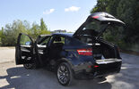 BMW X6 M50d im Innenraum-Check, Heck