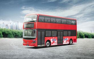 BYD London Bus Doppeldecker