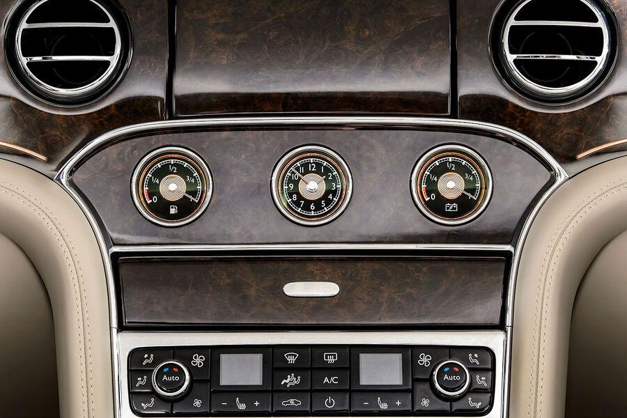 Центральная консоль Bentley Mulsanne Hybrid Concept
