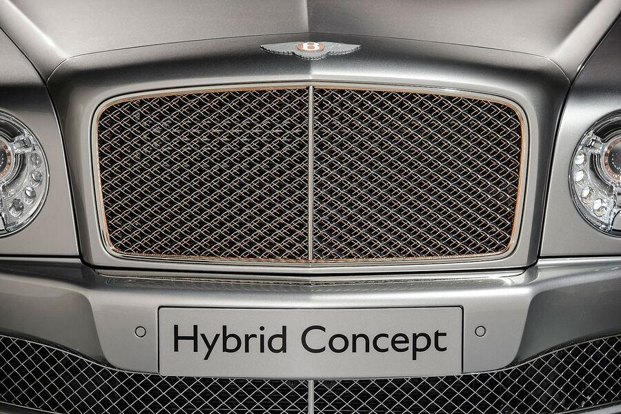 Радиаторная решетка Bentley Mulsanne Hybrid Concept
