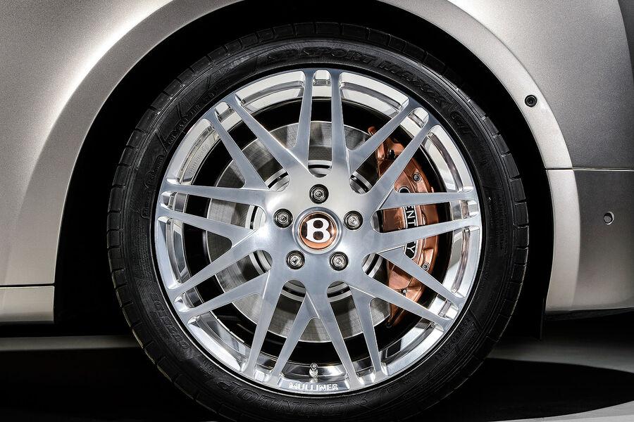 Оригинальные колеса Bentley Mulsanne Hybrid Concept