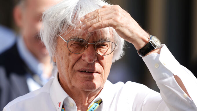 Bernie Ecclestone zum GP Deutschland 2015