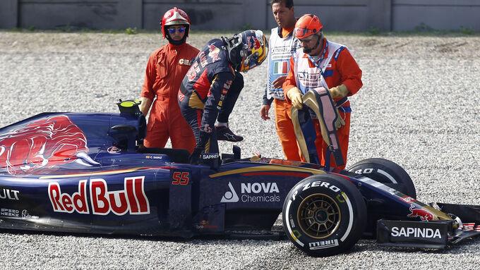 Highspeed-Dreher bei Toro Rosso