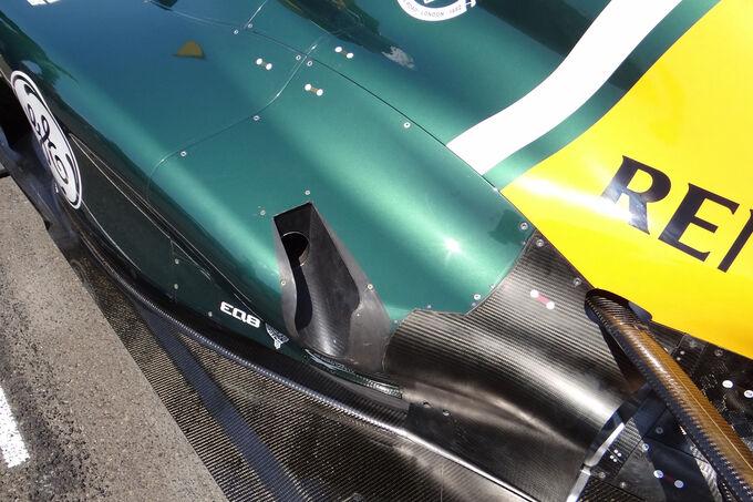 Caterham Auspuff GP Kanada 2012