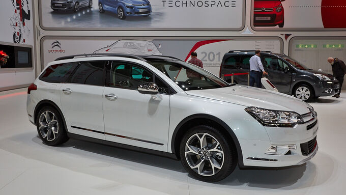 citroen c5 crosstourer auf dem autosalon genf 2014 auto motor und sport. Black Bedroom Furniture Sets. Home Design Ideas