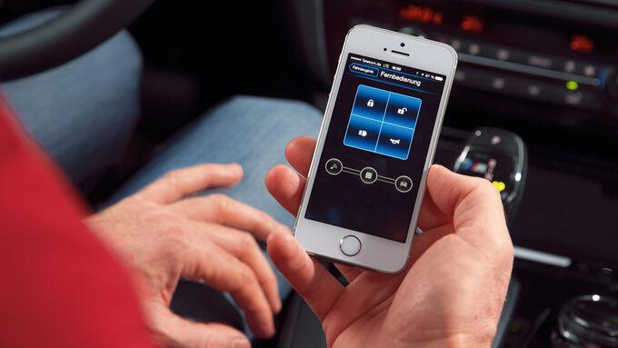 Connected Drive, Online-Funktionen, Fernbedienung