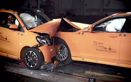 Crashtest Smart Fortwo Mercedes S-Klasse