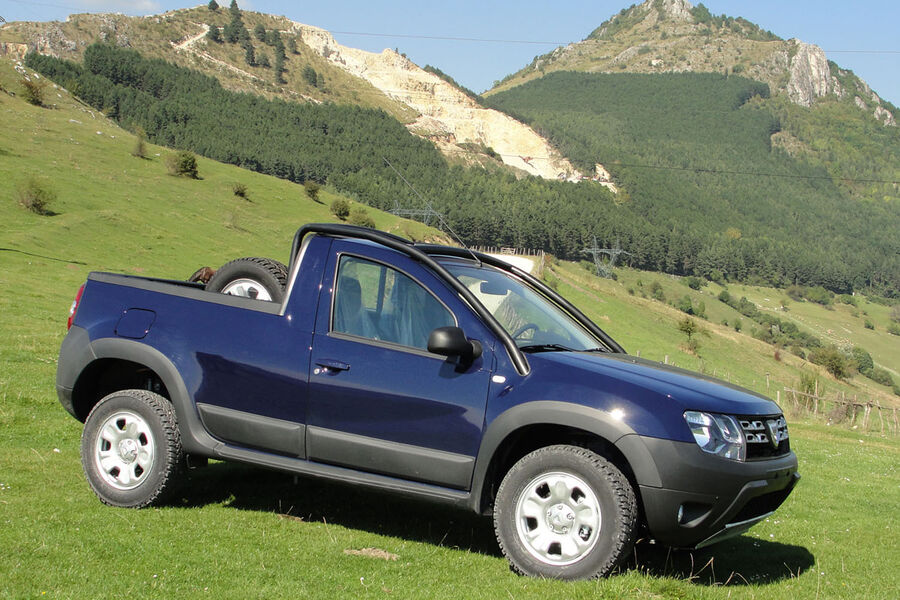 dacia duster pickup rum ne mit pritsche auto motor und. Black Bedroom Furniture Sets. Home Design Ideas