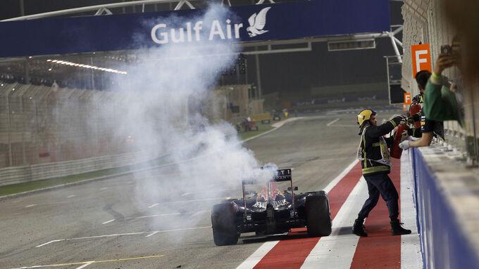 Ricciardo mit Motor Nummer 4
