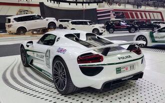 Dubai Police Cars - Polizeiautos - Porsche 918 Spyder