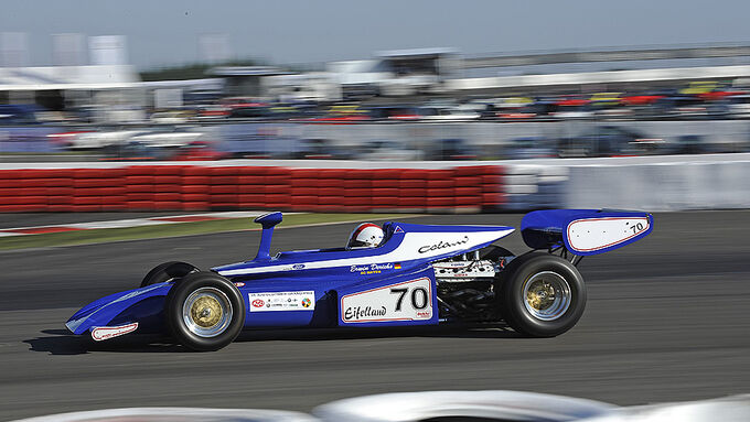 Eifelland Formel 1-Auto bei den AvD Oldtimer Grand-Prix 2010