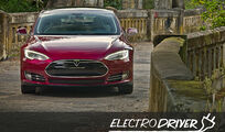 Electro Driver, Tesla Model S, Advertorial