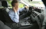 Erlkönig BMW 7er, Innenraum