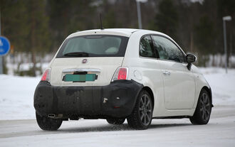 Erlkönig Fiat 500